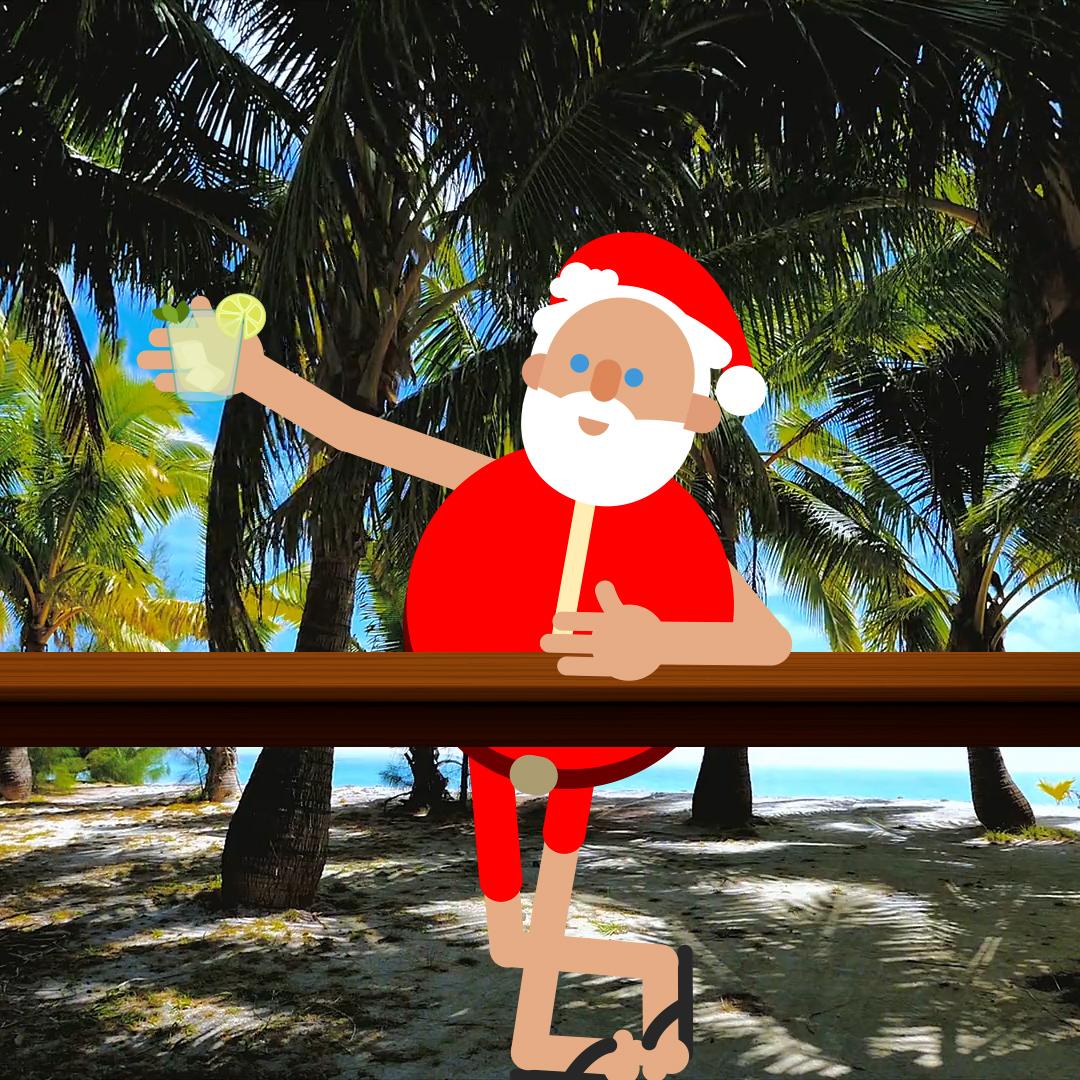 x-trange - papá noel playa - Promocigar